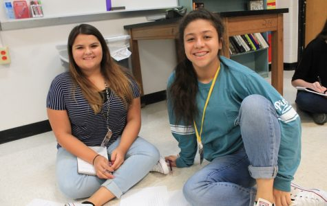 Students happy to be back at school