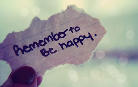 Be happy, don't dwell on negativity
