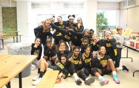 7th grade girls basketball shooting for undefeated