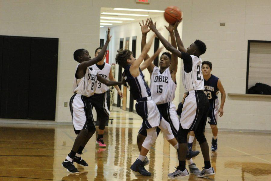 Dobie+basketball+teams+begin+their+season