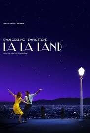 The official movie poster for la la land.