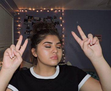 Makeup is a popular trend