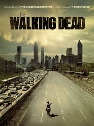 "The poster was made to inform people of the premier of The Walking Dead in the U.S. on October, 2010. The poster really captured what the first season had in store for the viewers.  ""I am a zombie-slayer so yes, it is [hilarious]. People often say, 'Do you think it struggles to break out of the genre of horror?' And I say, 'It is not a horror; it is a Western. That's what we do.' This is like an apocalyptic Western,"" shares Andrew Lincoln,according to EXPRESS."