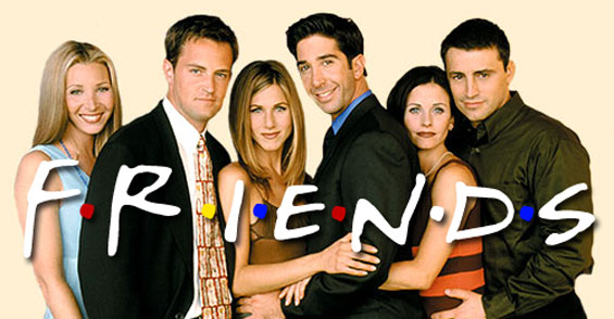 Friends the best comedy show in the late 90s to early 2000s.