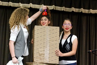 Students shine in Dobie's got talent contest