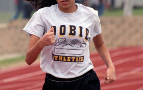 Dobie 8th Grade Girls Track: Record breaking season