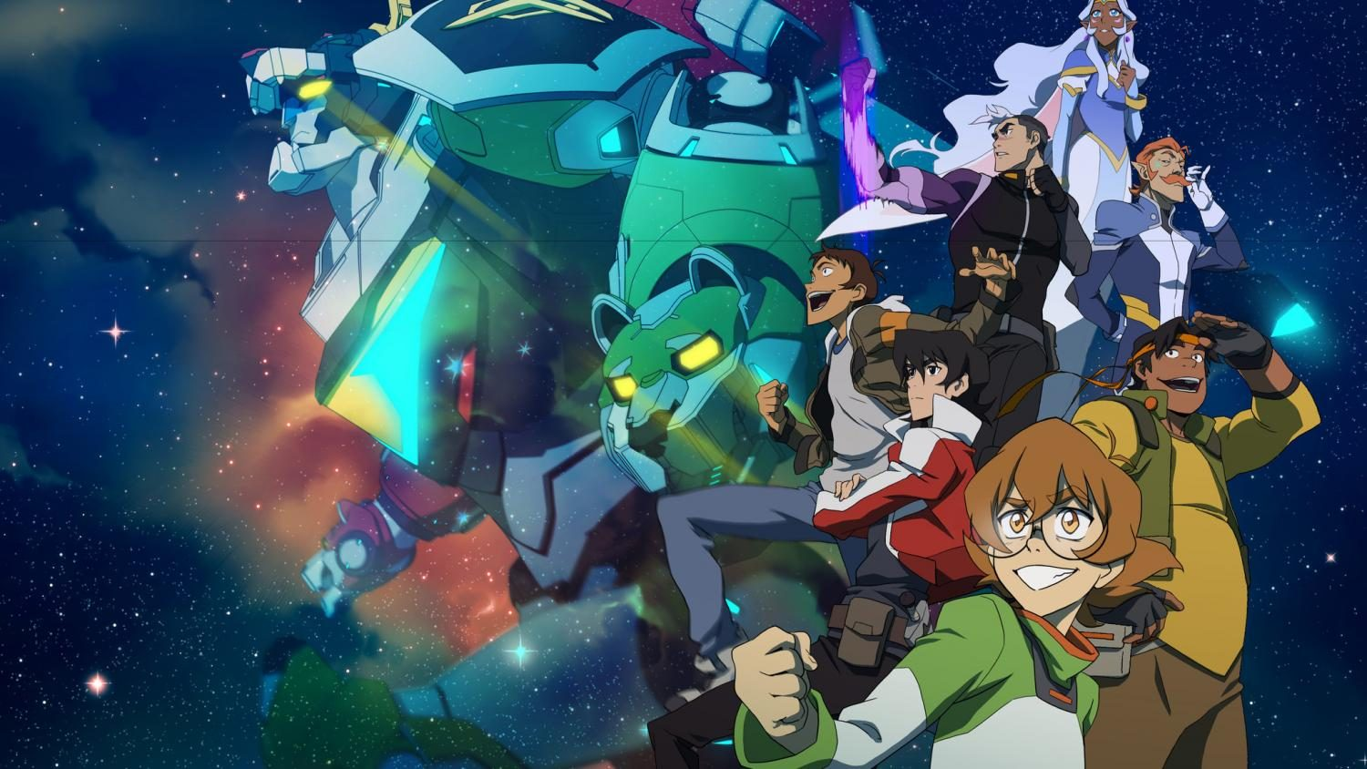 The+Voltron+crew+in+space+looking+amazing+Photo++courtesy+Of+Dreamworks+Entertainment
