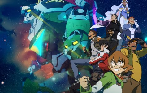 The Voltron crew in space looking amazing Photo  courtesy Of Dreamworks Entertainment