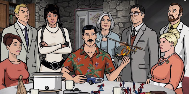 Personal view: Archer is my favorite show