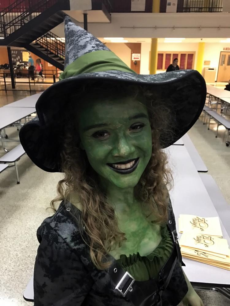 Brooklyn Moore in the Wizard of Oz.