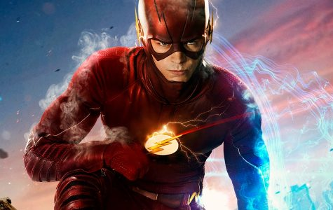 Showing Grant Gustin as Barry Allen