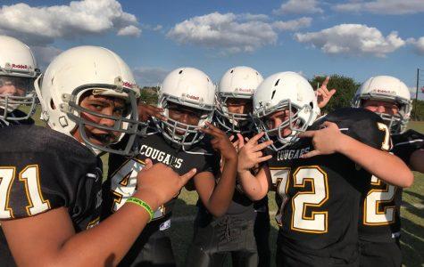 VIDEO: Dobie 7th grade football team defeats Boerne South 34-0