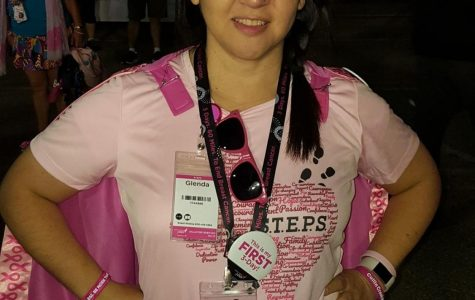 Mrs. Harper, cancer survivor, walks 60 miles