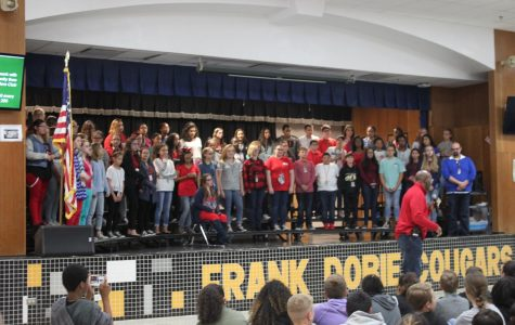 Veterans honored during patriotic assembly