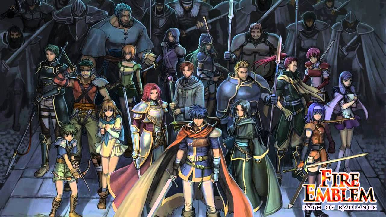 fire emblem path of radiance download