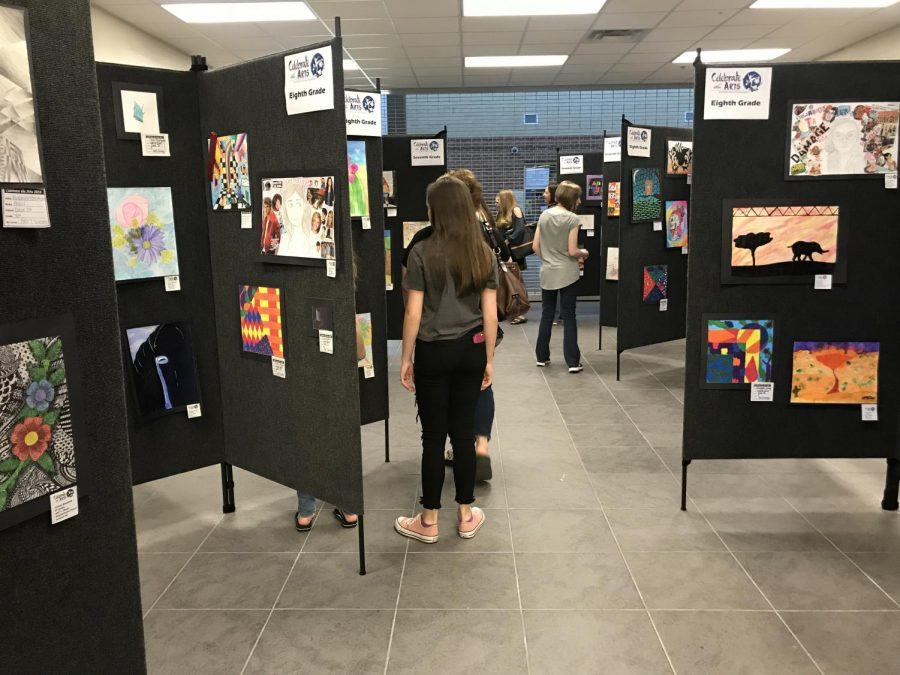 Dobie's best art featured in SCUC Fine Arts Festival