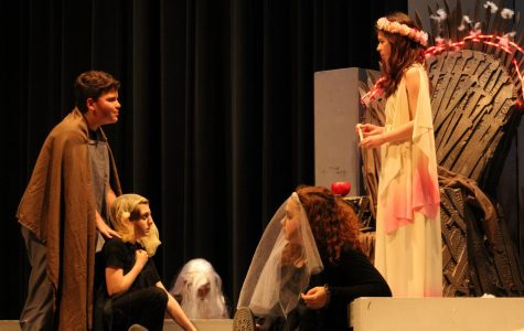 "One Act Play Performance ""Persephone"" was a hit"