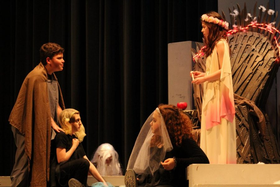 One+Act+Play+Performance+%22Persephone%22+was+a+hit