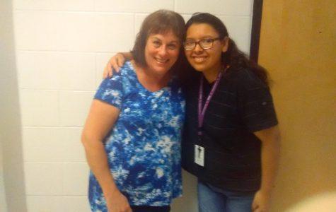 PV: Mrs. Zerbe, my favorite teacher