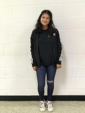 Amiah Briseno is stylish and in dress code.