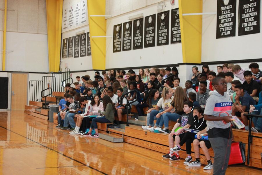 Students attend student assemblies