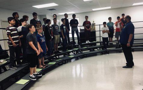 A look inside Dobie's choir classes