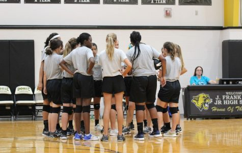 Volleyball team builds relationships
