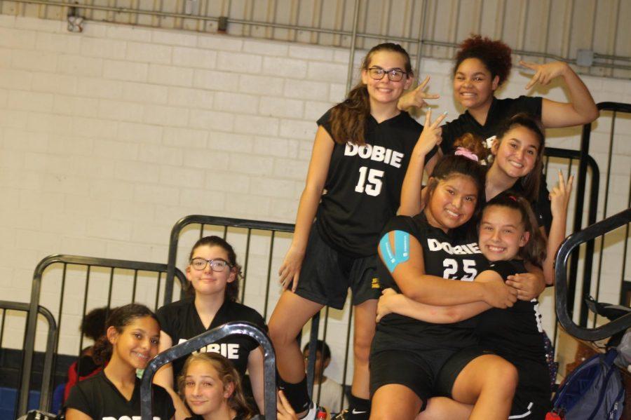 8th grade b-team volleyball