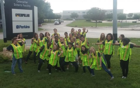 Female STEM students experience Manufacturing Day