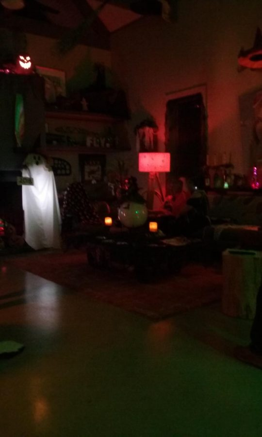Spooky decorations give Halloween parties a creepy vibe.