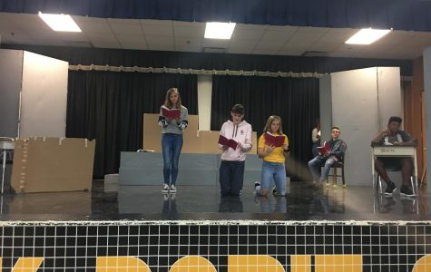 Theatre, choir prepare for Dobie Musical