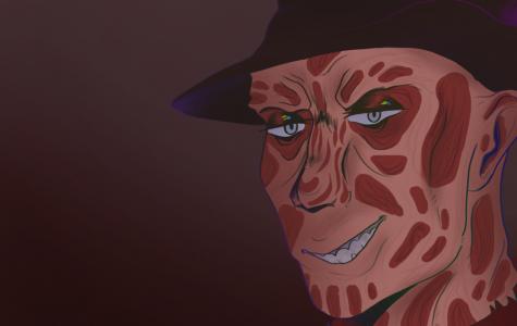 Drawing of Freddy Krueger
