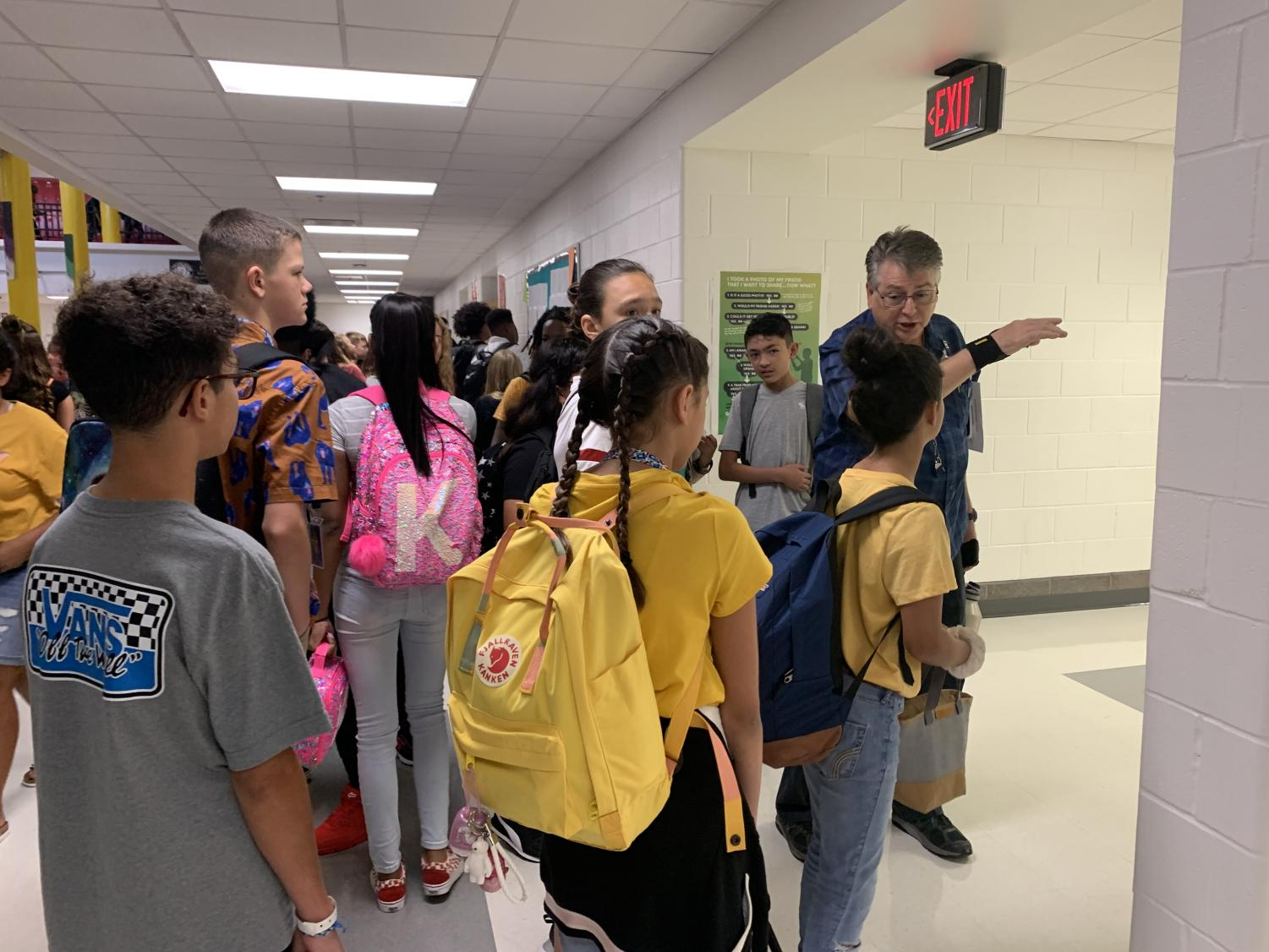 It's back-to-school for Dobie students