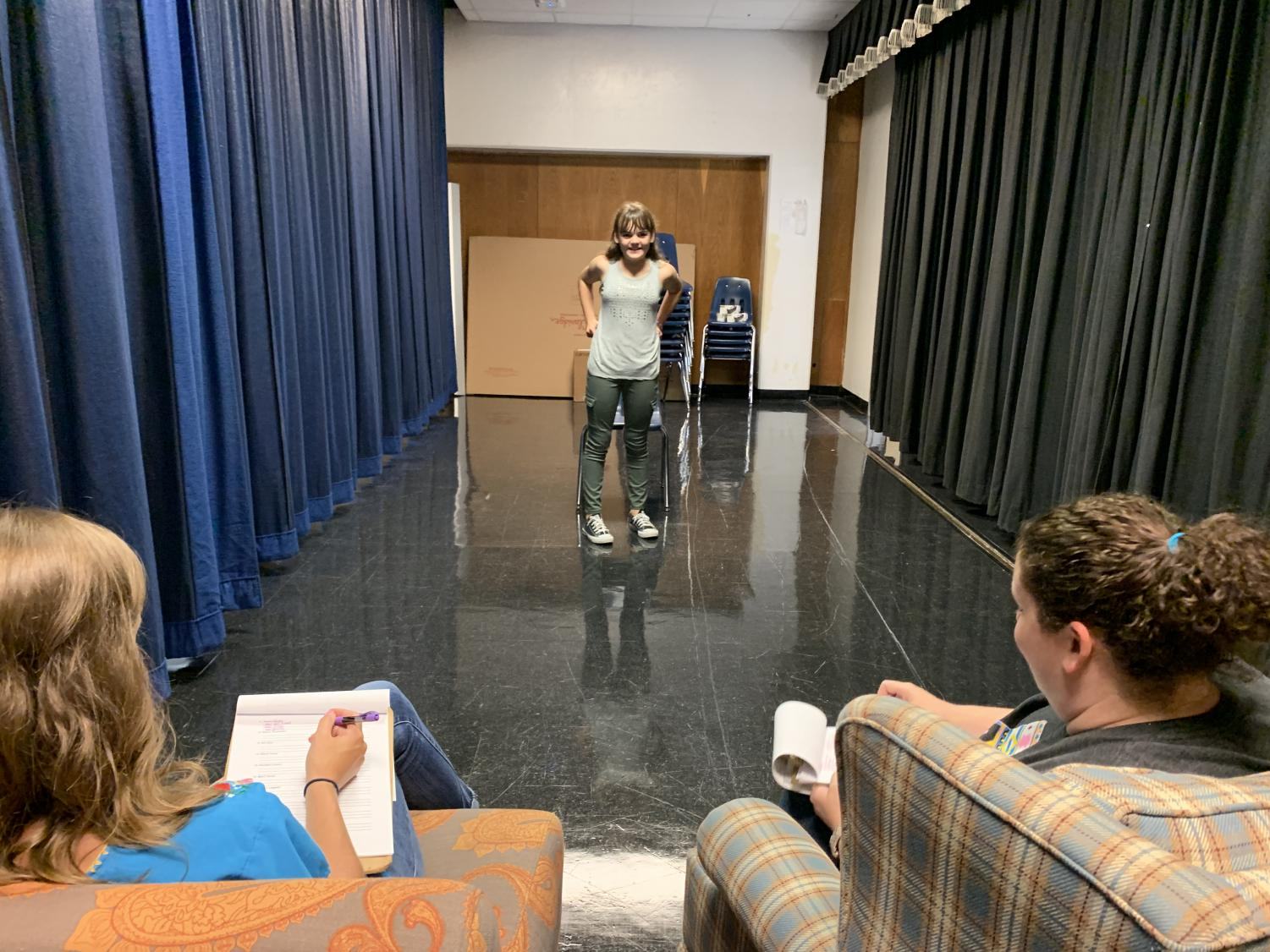 Theater auditions for Fall production held Sept. 6