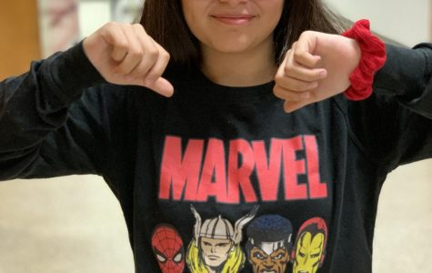 In Iron Man vs. Spider-man, Dobie students say Spider-Man wins