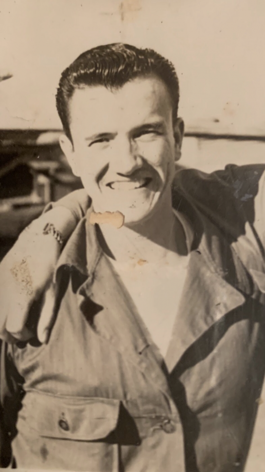 My great grandfather during the time of his service
