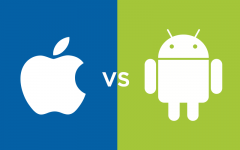 What do Dobie students think is better: Apple or Android