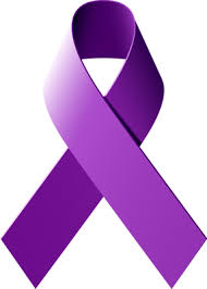 Wear purple ribbons in November, for Epilepsy Awareness.