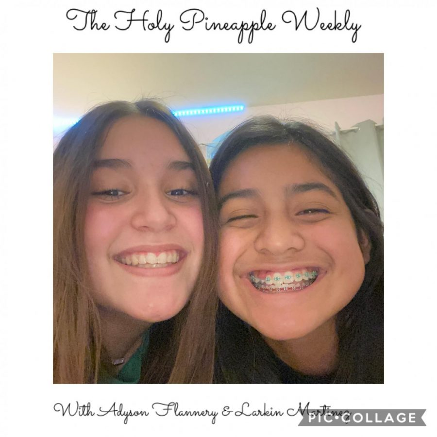 """Introducing a new Podcast: """"The Holy Pineapple Weekly"""""""
