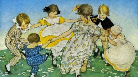 UNITED STATES - CIRCA 1900:  Jessie Willcox Smith (1863 – 1935) was an American illustrator famous for her illustrations for children