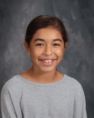 Briana Gonzales, 7th grader