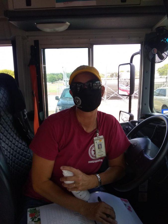 Ms. Connie Caruso, Bus Driver