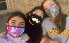 Students make masks fashionable