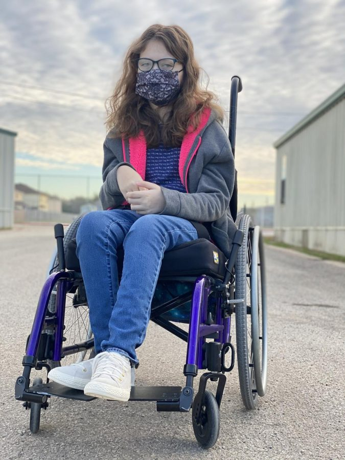Personal View: What it's like to be the girl in a wheelchair
